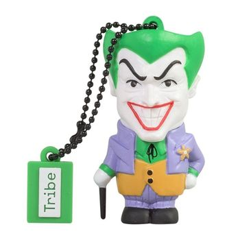 TRIBE USB FLASH DRIVE 16GB JOKER,  green