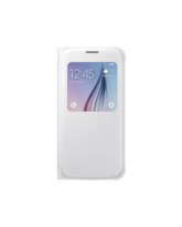 SAMSUNG GALAXY S6 LEATHER SVIEW,  white