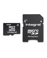 INTEGRAL MICROSDHC 16GB CLASS 10