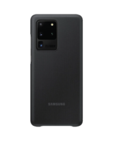 SAMSUNG GALAXY S20 ULTRA CLEAR VIEW COVER,  black