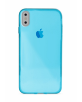 PURO IPHONE X BACK CASE,  blue