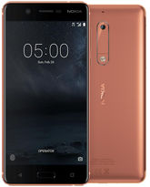 NOKIA 5 16GB 4G LTE DUAL SIM,  copper