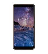 NOKIA 7 PLUS 64GB 4G DUAL SIM,  black copper
