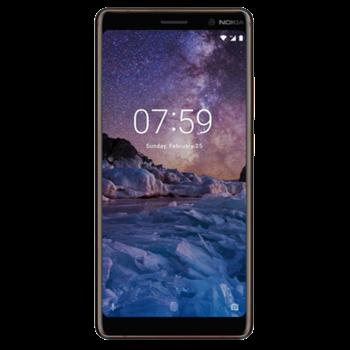 NOKIA 7 PLUS 64GB 4G DUAL SIM,  white copper