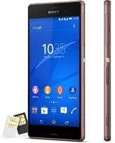 SONY D6633 XPERIA Z3,  copper