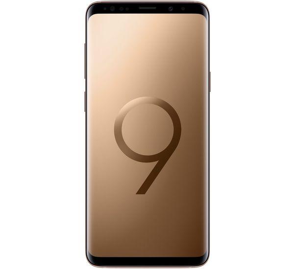 SAMSUNG GALAXY S9 PLUS, gold, 64gb