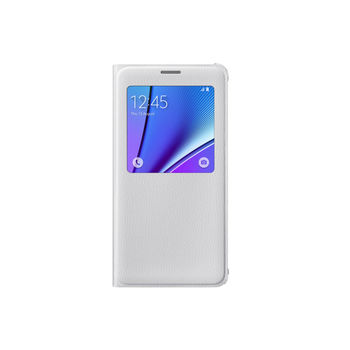SAMSUNG GALAXY NOTE 5 PU SVIEW,  white