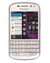 BLACKBERRY Q10,  white