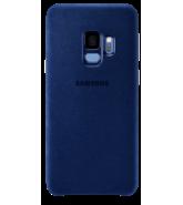 SAMSUNG S9 ALCANTARA COVER,  blue