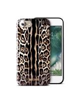 JUST CAVALLI iPhone 7 TPU Back Case Leopard Single Stripe
