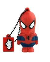 TRIBE USB Flash Drive 16GB Spiderman,  red