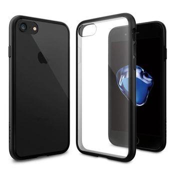 SPIGEN IPHONE 7 / IPHONE 8 BACK CASE ULTRA HYBRID BLACK