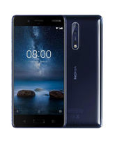 NOKIA 8 64GB DUAL SIM,  polished blue