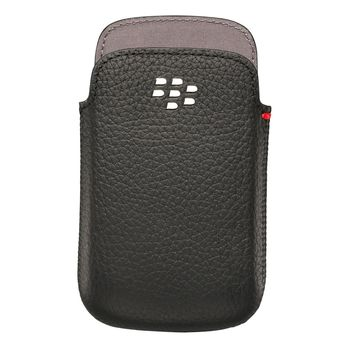 BLACKBERRY 9720 LEATHER POCKET RIM,  black