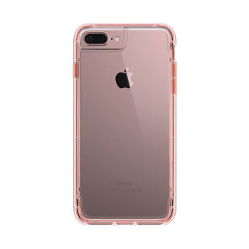 GRIFFIN IPHONE 8 PLUS BACK CASE SURVIVOR ROSE GOLD/WHITE/CLEAR