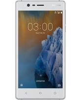 NOKIA 3 16GB 4G LTE DUAL SIM,  silver white