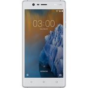 نوكيا 3 16GB 4G LTE ثنائي الشريحة,  أبيض