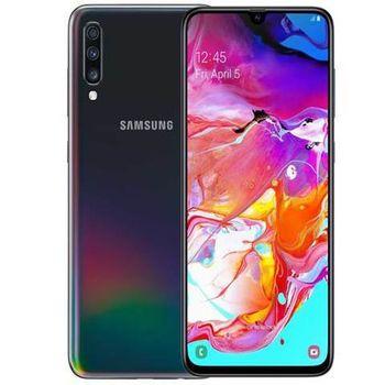 SAMSUNG GALAXY A70 A705F 128GB DUAL SIM,  black