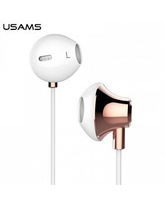 USAMS STEREO HEADSET FASHION ROSE GOLD