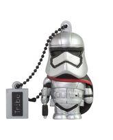 TRIBE USB FLASH DRIVE 16GB STAR WARS TFA CAPTAIN PHASMA,  silver