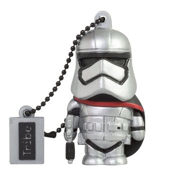 TRIBE USB FLASH DRIVE 16GB STAR WARS TFA CAPTAIN PHASMA,  silver