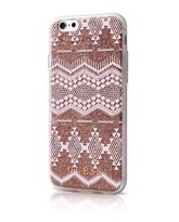 GUESS IPHONE 7 / IPHONE 8 BACK CASE WITH TRIBAL 3D EFFECT,  taupe