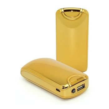 MYCANDY PORTABLE POWER BANK T3000 5600MAH GOLD EDITION,  gold