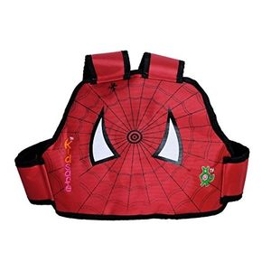 KIDSAFE BELT - Two Wheeler Child Safety Belt - World's 1st, Trusted & Leading (Cool Red Spiderman), red