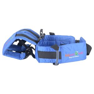 KIDSAFEBELT - Two Wheeler Child Safety Belt - World's 1st, Trusted & Leading (Air), blue