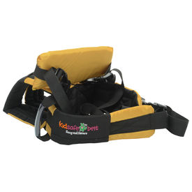 KIDSAFEBELT - Two Wheeler Child Safety Belt - World s 1st, Trusted & Leading (Air Luxor), yellow