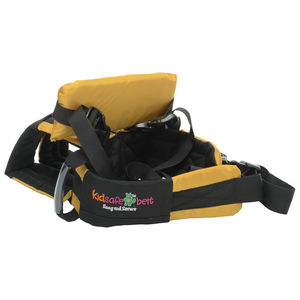 KIDSAFEBELT - Two Wheeler Child Safety Belt - World's 1st, Trusted & Leading (Air Luxor), yellow