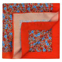 Orange Blossom Pocket Square
