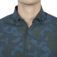 Chasquido Camo Print Shirt in Slim Fit, s