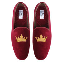 Chasquido Red Monarch Slip-ons, 8