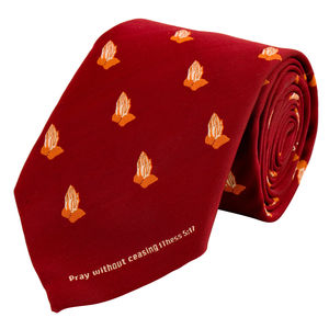 Necktie - Pray without ceasing.