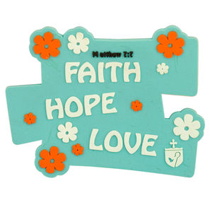 Faith, Hope, Love Fridge magnets