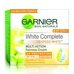 Garnier Skin Naturals White Complete Multi Action Fairness Cream, 40g