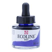 Royal Talens Ecoline Liquid Water Colour Ink 30ML - Ultramarine Violet (507)