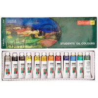 Camel Student Oil Colour Box ( 9 ml, 12 Shades)