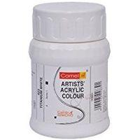 Camel Artist Acrylic Colour Bottle 500ml SR1 Titanium White (838423)