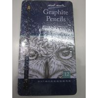 Mont Marte Graphite Pencil 12 Shades Tin Packing (MPN0114_ V02)