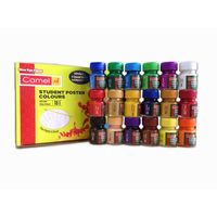 Camel Student Poster Colours -10ml, 18 Shades
