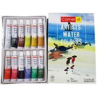 Camel Camlin Artist Water Colour Box (5ml, 12 Shades)