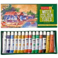 Camel Student Water Color Tube - 5ml tubes, 14 Shades