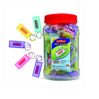 Soni Officemate Key Chain ( 50 pcs, Mixed Colours)