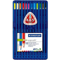 Staedtler Ergosoft Color Pencil 12 Shades (157 SB12)