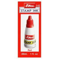 Shiny Stamp Pad Ink 28ml Red (S-62)