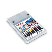 Eddding Brush Pens ( Set of 10 Assorted colours, e-1340/10s)