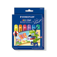 Staedtler Noris Club Gel Crayons Glitter Colors 6 Shades (2390 MC6)