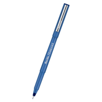 Rorito Fiber Point Pen- Blue, Pack of 10